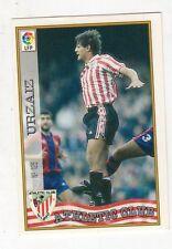figurina card fichas - CARD LIGA 97/98 1997  - N. 125 ATHLETIC CLUB URZAIZ