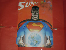 COVERS -SUPERMAN ALL STAR- N°0 -MINI POSTER-22X30-RW lion dc comics NUOVO