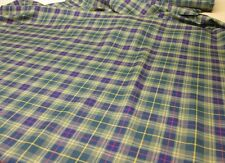 Glens of Corbie Tartan Fabric Plaid Check 10oz 100% Pure Wool Made in Scotland