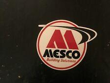Mesco Building Solutions decal sticker NASCAR contingency asa arca nhra race car