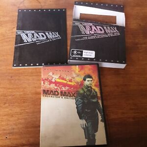 Mad Max **Exclusive Special Edition** DVD Mel Gibson  Like New FREE POST R4