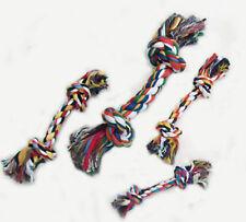 Kerbl Zahnseil Seil Tau mit Knoten für Hund Zahnpflege Hundespielzeug