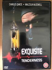 Charles Dance Malcolm McDowell EXQUISITE TENDERNESS ~ 1993 Médico Horror GB DVD