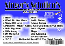 karaoke cdg Singers SolutionPOP-042+043-+POP-044-CO#443+#444-5-DISC