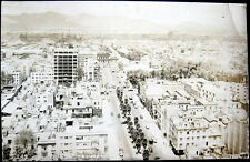 Mexico~1940's Mexico City ~ Aerial View Of City~ Real Photo Pc Rppc