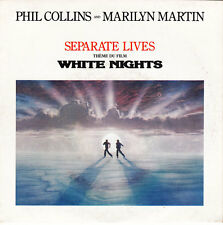 """Phil Collins And Marilyn Martin 7"""" Separate Lives (VG/VG+)"""