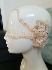 Mimco Airy Fairy Garland Lace Races Headpiece Fascinator