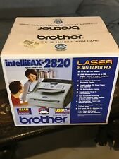Brother Intellifax 2820 Laser Plain Paper Fax 2005 New