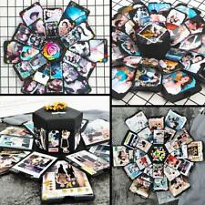 Novelty Bomb Explosion Box Memory Scrapbook Photo Album DIY Anniversary Gift Box