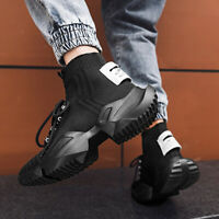 Men's Fashion Running Shoes Sport Gym Tennis Outdoor High top Casual Sneakers