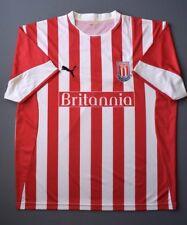 4.6/5 STOKE CITY 2005-2006 FOOTBALL SOCCER HOME SHIRT JERSEY PUMA SIZE XL