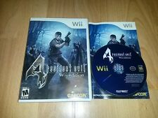 Resident Evil 4 Wii Edition Biohazard NTSC US USA Import Survival Action Horror