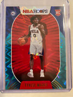 2020-21 Tyrese Maxey Hoops Teal Explosion No 207 Rookie Sp Sixers