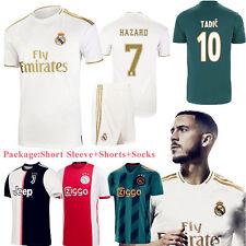 2020 New Season Football Home Kits Kids Adults Soocer Jersey Strip Suits+Socks