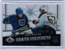 12/13 PANINI LIMITED ZACK KASSIAN BM-45 BOARD MEMBERS 098/199 VANCOUVER CANUCKS