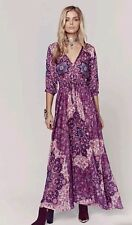 NWT Spell & the Gypsy Collective Designs Kiss the Sky Gown -Violet- Sz XS