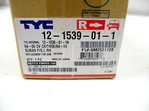 Turn Signal / Parking Light Assembly-NSF Certified Front Right TYC 12-1539-01-1