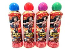 Wonder Woman Bingo Daubers Markers Set Of 4 DC Comics Red Blue Green Purple New