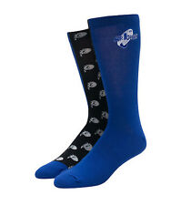 Air Jordan Retro 11 XI Space Jam Purple Black Blue Elite Socks Men's 8 12 LG New