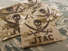 SNAKE PATCH - JTAC calico Jack - AOR1 marpat desert ITALIA italy USMC TACP USAF
