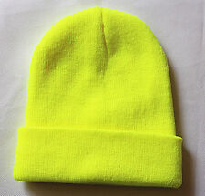 Unisex Beanie Knit Ski Cap Hip-Hop solid Colour Winter Warm Unisex Wool Hat/SHU