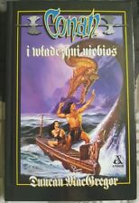 CONAN I WLADCZYNI NIEBIOS Duncan MacGregor | Polish book | Hardback 1999