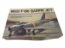 F-86 Sabre Jet Vintage Monogram Model Kit - Unbuilt