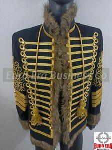 New Napoleonic Hussars Uniform Military Style Tunic Pelisse Jimi Hendrix Jacket