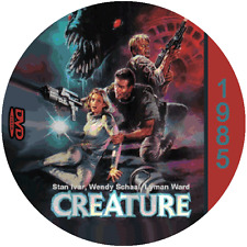 "Creature (1985) Classic Horror and Sci-Fi CULT ""B-Movie"" DVD"
