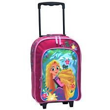 Disney Kindertrolley Rapunzel Kinderkoffer 2 Rollen Pink Fb0