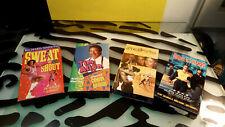 80s VHS Movies Lot of 4 Good Richard Simmons Tim Allen Boyz Hood Love Basketball