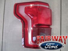 15 thru 17 F-150 OEM Genuine Ford Tail Lamp Light Driver LH LED w/ Blind Spot