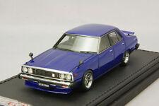 IGNITION MODEL 1/43 Nissan Skyline 2000 GT-EL (C210) Blue #IG0322