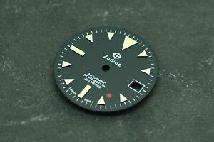 Custom Yellow Zodiac Explorer Watch Dial for ETA 2824 Movement 28.6mm
