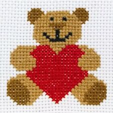 Anchor 1st Kit - Starter - Counted Cross Stitch - Ed - Teddy - 369000010004