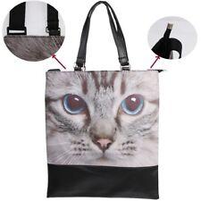 Katzen Tasche Katzenmotiv Handtasche Shopper Einkaufstasche Katze Cat Bag