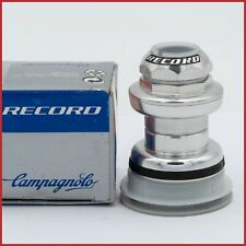 """NOS CAMPAGNOLO RECORD HEADSET 1"""" INCH VINTAGE 90S ENGLISH BC1THREADED EC30 BIKE"""