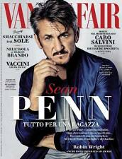 VANITY FAIR Magazine ITALY ITALIA, Sean Penn (The Gunman) Eric Ray Davidson NEW