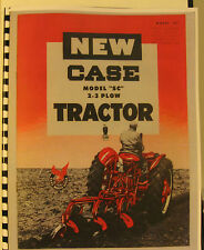 """J.I. Case Model """"SC"""" 2 - 3 Plow Tractor Sales Manual  Fully Illustrated"""