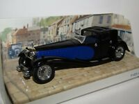 MATCHBOX MODELS OF YESTERYEAR 1930 BUGATTI ROYALE BLUE/BLACK 1/46 Y45