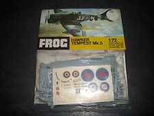 FROG  HAWKER TEMPEST MK.5  PLASTIC MODEL 1/72 VINTAGE REF F189F