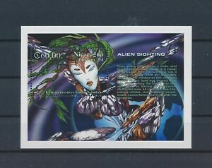 LO40988 Nicaragua 1994 alien sighting good sheet MNH