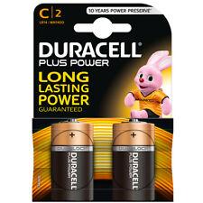 DURACELL PLUS POWER LR14 / MN1400 / BABY / C 1,5Volt Long Lasting Power 2er-Pack