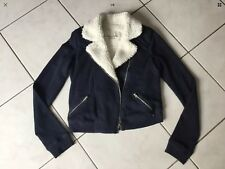 Gilet Sweat fourré ABERCROMBIE & FITCH taille S marine