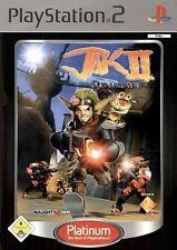 PlayStation 2  Ps2  Jak 2 - Renegade [Platinum]
