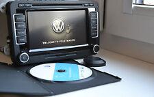 2016 VW RNS510 MFD3 GPS sistema de navegación pantalla LED V14 MAPAS HDD 40GB