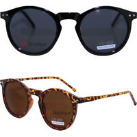 Retro Vintage Circle Round Sunglasses P3 Kety Hole Free Pouch gift costume 9437