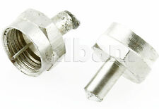10pcs @$1.6 F Male Dummy Load 75 OHM Terminator Connector 15-0482