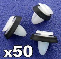 50x Citroen Relay Exterior Side Moulding Rub Bumpstrip / Lower Door Trim Clips