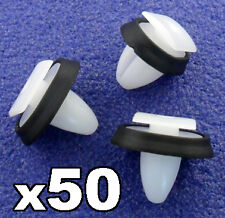 50x Citroen Relay Exterior Side Moulding Rub Bumpstrip / Lower Door Trim Clips